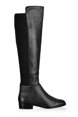 Bromley Flat Knee Stretch Boot Tall Boots