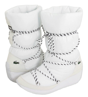 Lacoste boots Lacoste Bundle White Shine boots
