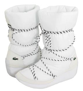 Lacoste boots Lacoste Bundle White Shine boots