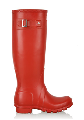 Red Tall Wellington Boots Tall Boots