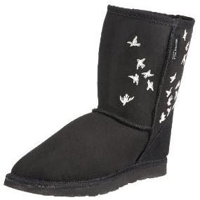 Koolaburra Womens Crystal Flock Short Boot  Koolaburra Swarovski Crystal Flock Boots