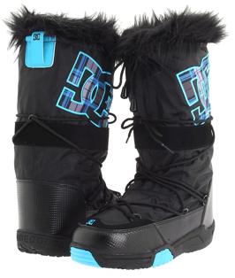 black DC Snowboots DC Chalet Snow Boots