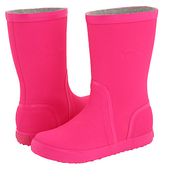 lacoste pink boots Lacoste Welby Fluo