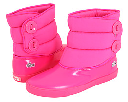 pink lacoste bundle shine boots Pink Lacoste Shine Bundle Boots