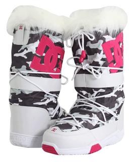white DC Snowboots DC Chalet Snow Boots