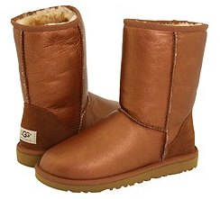 ugg classic short metallic UGG Boots