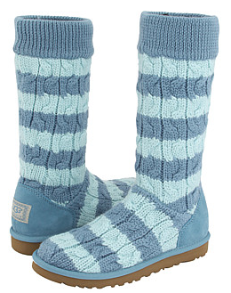 ugg classic tall stripe cable knit UGG Boots