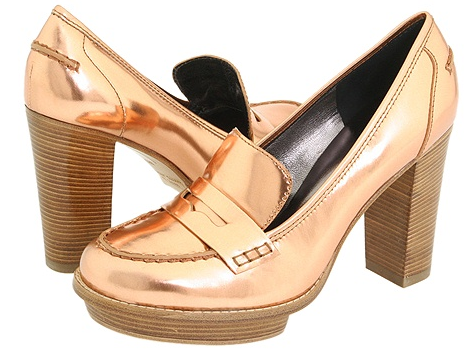 Marc by Marc Jacobs Patent Bronze Platforms Marc by Marc Jacobs Patent Copper Platforms