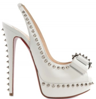 Christian Louboutin 150mm Lacy Clou Spiked Bow Pumps Christian Louboutin Lady clou spiked bow pumps