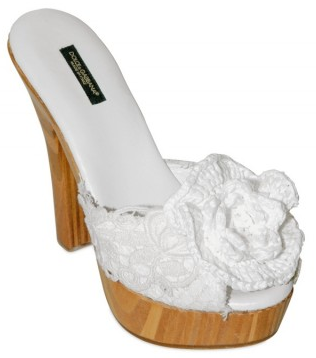 Dolce Gabbana 140mm Rafia and Macrame Flower Sandals Dolce & Gabbana Rafia and Macrame Flower Sandals