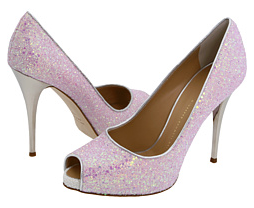Giuseppe Zanotti pink peep toe heels Giuseppe Zanotti pink peep toe heels