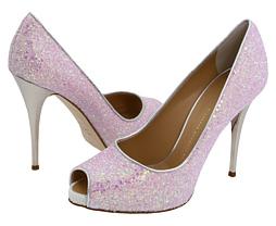 Giuseppe Zanotti pink peep toe heels Giuseppe Zanotti pink peep toe heels