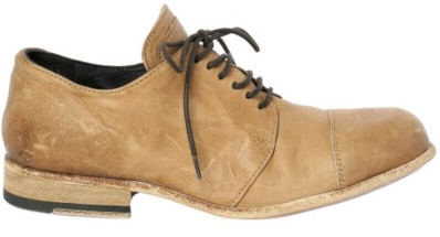 BB Bruno Bordese Washed Calfskin Lace up shoes BB Bruno Bordese Washed Calfskin Lace up shoes