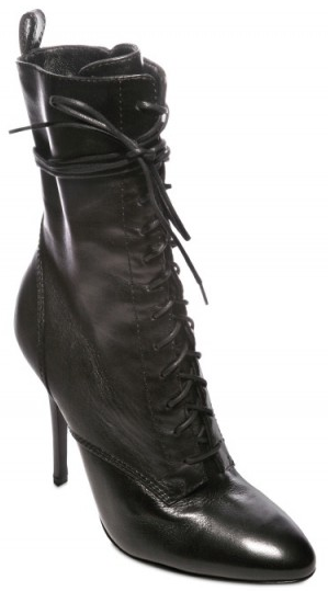 Balmain Nappa Laced Boots Balmain Nappa Laced Boots