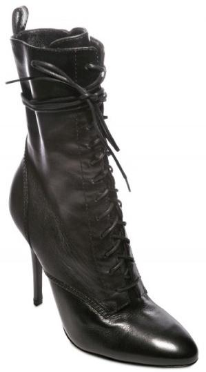 Balmain Nappa Laced Boots Balmain Nappa Laced Boots