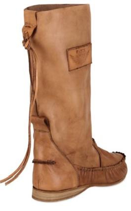 El Vaquero boots El Vaquero Vegetable Leather Pull on Boots