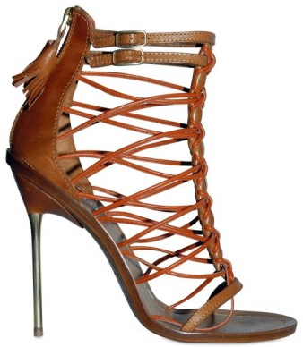 Emilio Pucci Multi String Cage Sandals Emilio Pucci Multi String Cage Sandals
