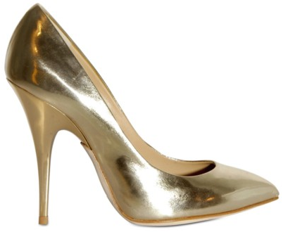 Giuseppe Zanotti Mirrored Calfskin Pumps Giuseppe Zanotti Gold Mirrored Calfskin Pumps