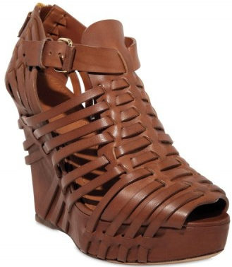 Givenchy Wedges Givenchy Wooden Calfskin Wedges