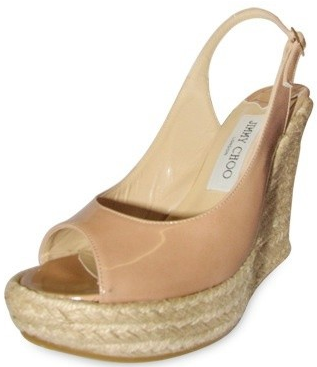 Jimmy Choo Espadrille Wedges1 Jimmy Choo Patent Espadrille Wedges