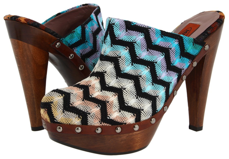 MIssoni Clogs Missoni Clogs