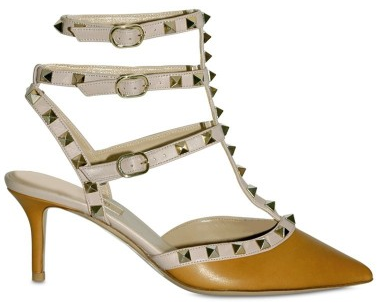Valentino Micro Stud Sandals1 Valentino Micro Studs Sling Back Sandals