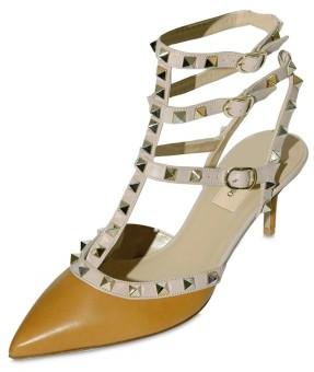 Valentino Stud Sling Back Sandals Valentino Micro Studs Sling Back Sandals