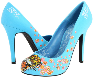 ed hardy blue haute Ed Hardy Haute shoes