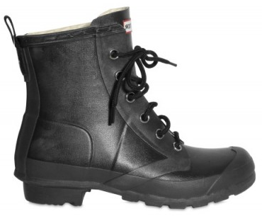 Hunter Rubber Lace up Boots Hunter Rubber Lace up Boots
