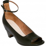 Maison Martin Margiela Calf Mary Jane Open Toe Pumps