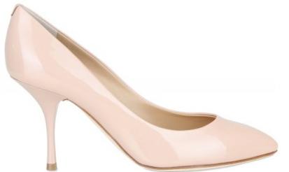 Pink Giuseppe Zanotti Patent Pumps Scarpe con Tacco