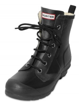 Rubber Lace up Boots Hunter1 Hunter Rubber Lace up Boots
