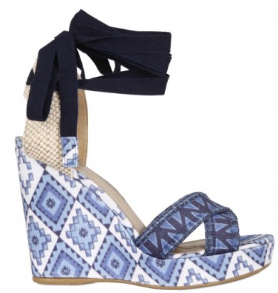 Theodora Callum Biarritz Song Holiday Wedges Theodora & Callum Biarritz Song Holiday Wedges
