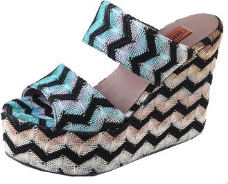 missoni wedges Missoni Zig Zag Platform Wedges
