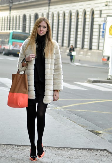 Chiara Ferragni walking in her Vivienne Westwood Anglomania Melissa IVs Anglomania Melissa Lady Dragon