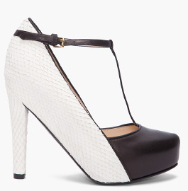 Philip Lim Calder T Strap shoes Philip Lim Calder T Strap Pumps