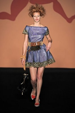 Vivienne Westwood Melissa lady dragon catwalk show Anglomania Melissa Lady Dragon