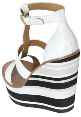 Blond Ambition Stripe Wedges Blond Ambition Stripy Wedges