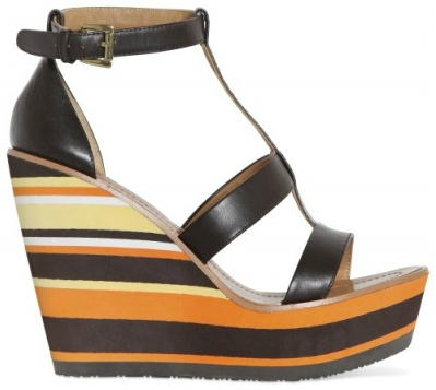 Blond Ambition Stripy Micro Wedge Blond Ambition Stripy Wedges