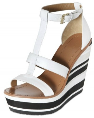 Blond Ambition Stripy Wedge Blond Ambition Stripy Wedges