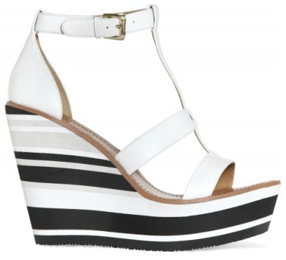 Blond Ambition Stripy Wedges Blond Ambition Stripy Wedges