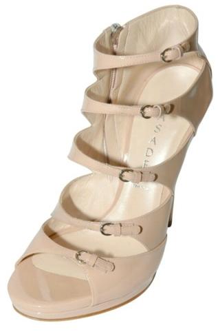 Casadei Patent Cage Sandals Casadei Patent Cage Sandals