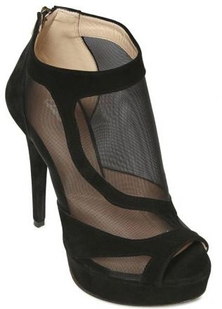 Chiara Ferragni Mesh and suede sandals Chiara Ferragni Mesh suede sandals