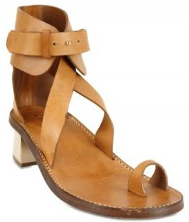Chloe Calfskin Ankle Strap Thong Sandals Chloe Calfskin Ankle Strap Thong Sandals