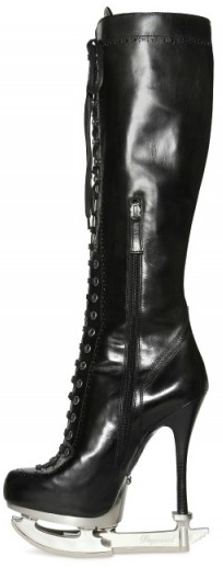 Dsquared Laced Ice Skate Boots Dsquared Laced Ice Skate Boots