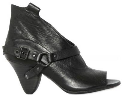 Elisanero Open Low Boots Elisanero Open Toe Low Boots
