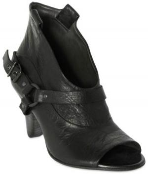 Elisanero Toe Boots Elisanero Open Toe Low Boots