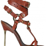 Emilio Pucci Criss Cross Ankle thong sandals