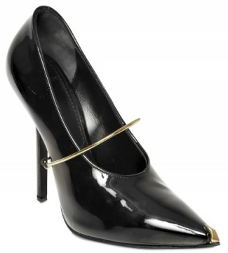 Givenchy Claw Metal Strap Patent Pumps Givenchy Claw Metal Strap Patent Pumps