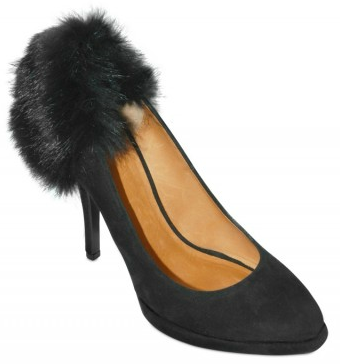 Givenchy Fur Suede Pumps Givenchy Fur Suede Pumps